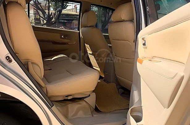 Cần bán lại Toyota Fortuner 2.5G đời 2011, màu bạc, giá chỉ 530 triệu3
