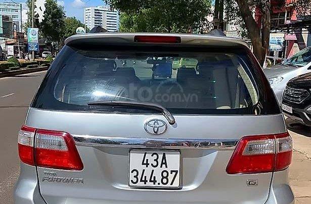 Cần bán lại Toyota Fortuner 2.5G đời 2011, màu bạc, giá chỉ 530 triệu1