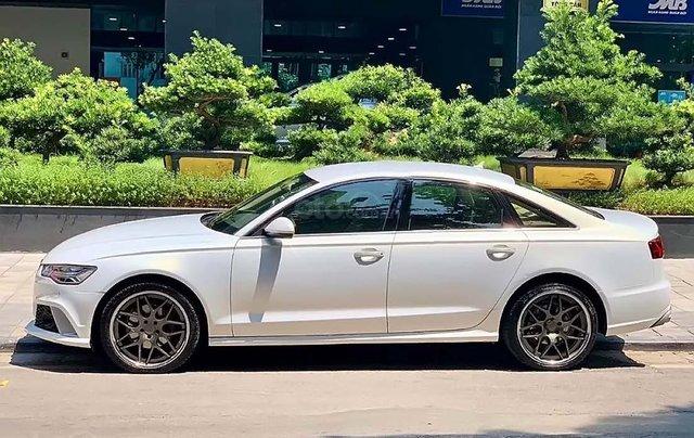Cần bán Audi A6 năm 2015, màu trắng, xe nhập4