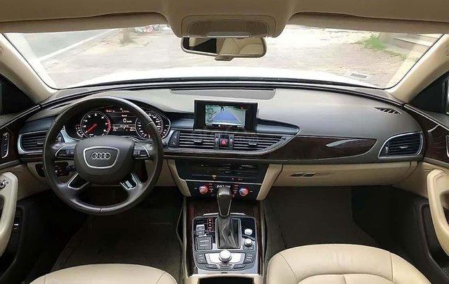 Cần bán Audi A6 năm 2015, màu trắng, xe nhập1