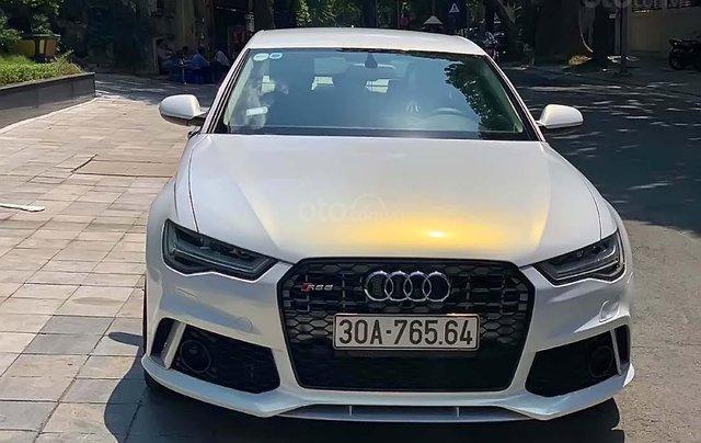 Cần bán Audi A6 năm 2015, màu trắng, xe nhập3