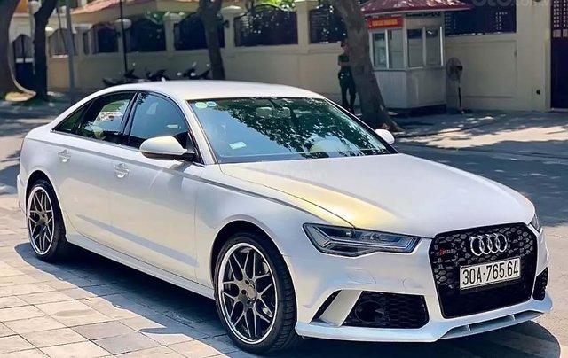 Cần bán Audi A6 năm 2015, màu trắng, xe nhập0