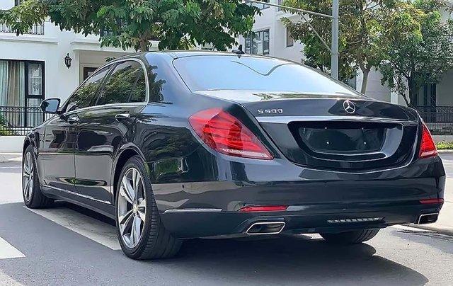 Cần bán lại xe Mercedes S500 đời 2015, màu xám, nhập khẩu1