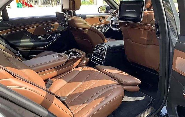 Cần bán lại xe Mercedes S500 đời 2015, màu xám, nhập khẩu2