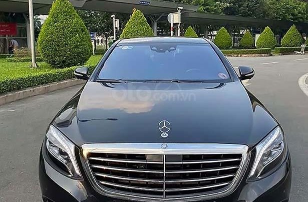 Cần bán lại xe Mercedes S500 đời 2015, màu xám, nhập khẩu0