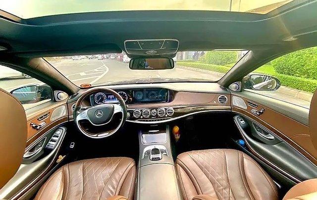 Cần bán lại xe Mercedes S500 đời 2015, màu xám, nhập khẩu3