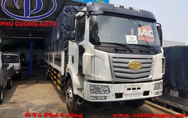 Xe tải Faw 7T25 thùng 9m7- có sẵn- trả trước 280tr-giao xe tận nơi- bao đậu HS vay0