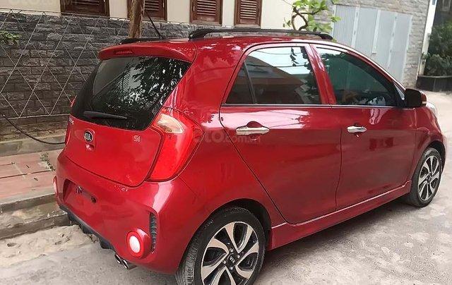 Cần bán xe Kia Morning Si MT sản xuất 2016, màu đỏ số sàn, giá tốt1