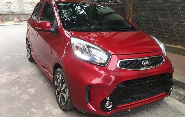 Cần bán xe Kia Morning Si MT sản xuất 2016, màu đỏ số sàn, giá tốt0