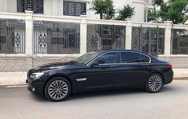 Bán BMW 7 Series 750Li đời 2013, màu đen, nhập khẩu nguyên chiếc0
