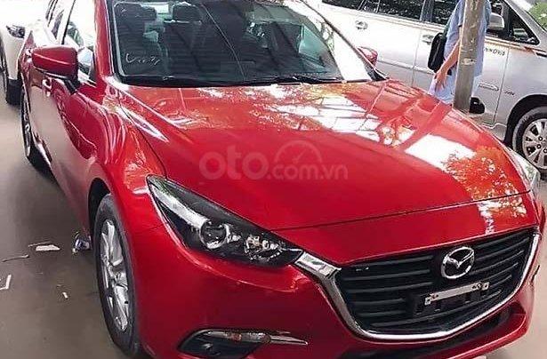 Cần bán lại xe Mazda 3 năm sản xuất 2018, màu đỏ0