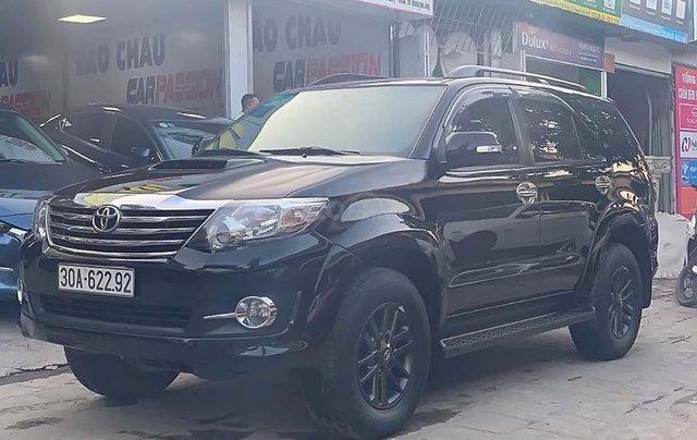 Bán ô tô Toyota Fortuner G MT sản xuất năm 2015, màu đen số sàn0