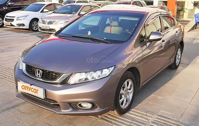 Cần bán lại xe Honda Civic đời 2015, màu nâu chính chủ0