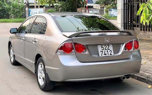 Cần bán lại xe Honda Civic 1.8 MT năm 2007, màu bạc  1