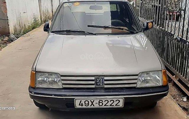 Cần bán Peugeot 205 1.3 MT đời 1990, màu bạc, xe nhập giá cạnh tranh0