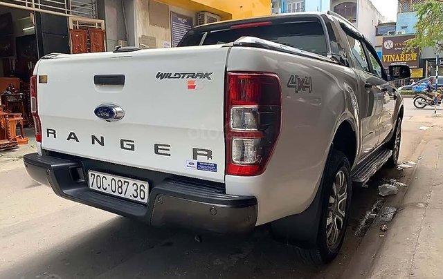 Bán Ford Ranger Wildtrak 3.2L 4x4 AT đời 2016, màu trắng, xe nhập1