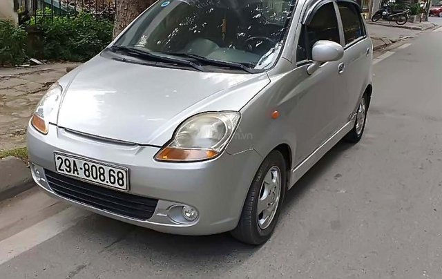 Bán Daewoo Matiz SE 0.8 AT đời 2007, màu bạc, xe nhập số tự động1