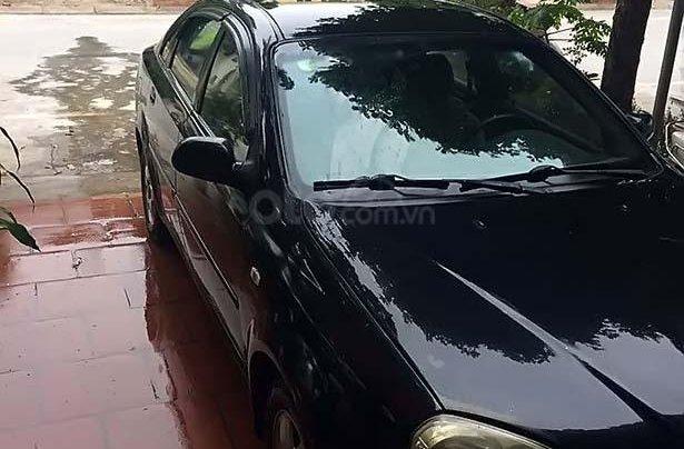 Cần bán lại xe Daewoo Lacetti MT sản xuất 2005, màu đen số sàn0