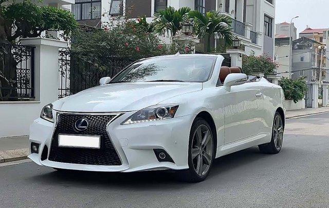 Bán xe Lexus IS 250C năm sản xuất 2012, màu trắng, nhập khẩu số tự động0