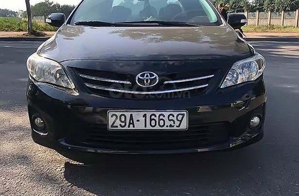 Cần bán xe Toyota Corolla Altis năm sản xuất 2011, màu đen chính chủ, 470 triệu1