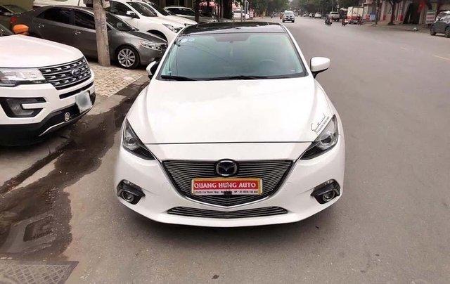 Bán xe Mazda 3 đời 2016, màu trắng, giá tốt0