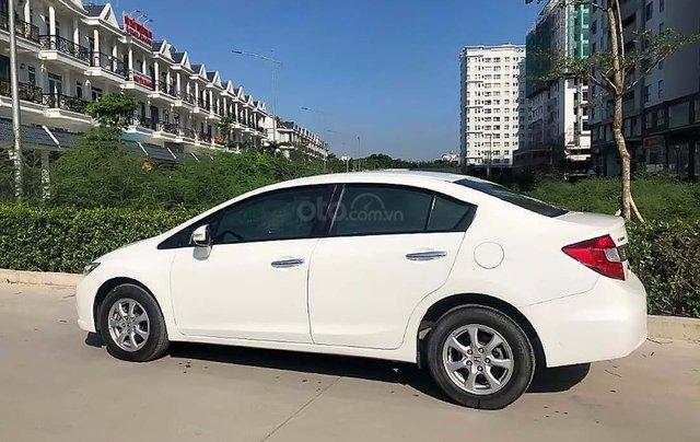 Bán Honda Civic 2015, màu trắng, 690tr1