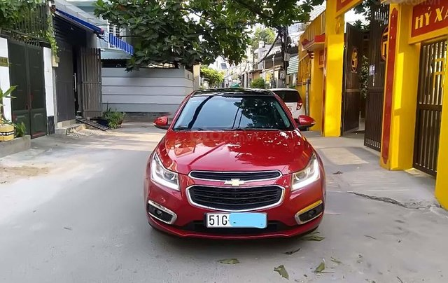 Bán Chevrolet Cruze sản xuất năm 2017, màu đỏ, nhập khẩu nguyên chiếc0