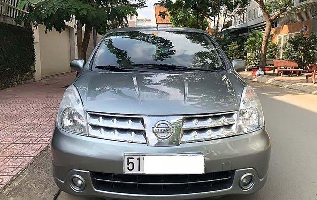 Bán Nissan Livina AT năm sản xuất 2011, màu xám, xe nhập xe gia đình, giá tốt0