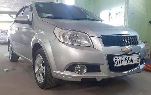 Bán Chevrolet Aveo MT đời 2016, màu bạc số sàn0
