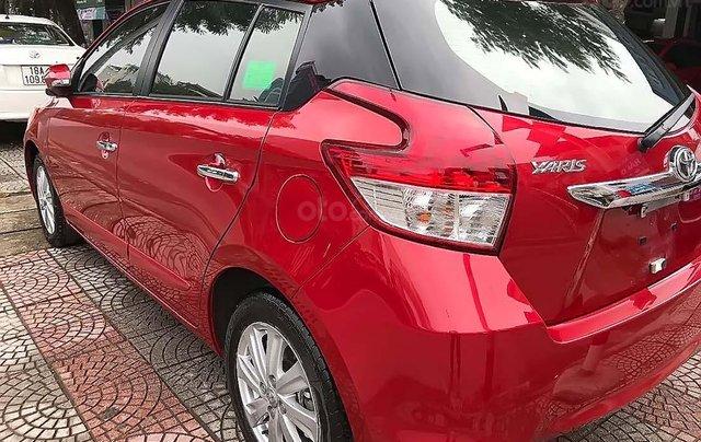 Cần bán Toyota Yaris 1.5 G đời 2017, màu đỏ, xe nhập chính chủ, 595 triệu1
