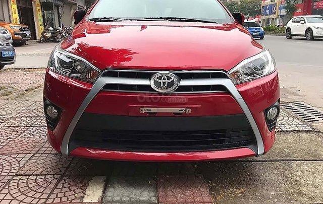 Cần bán Toyota Yaris 1.5 G đời 2017, màu đỏ, xe nhập chính chủ, 595 triệu3