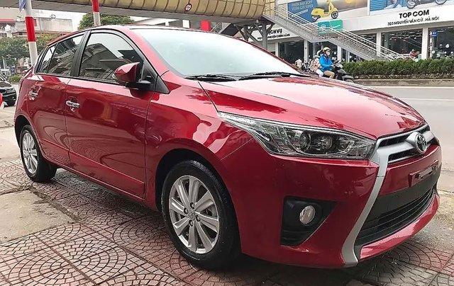 Cần bán Toyota Yaris 1.5 G đời 2017, màu đỏ, xe nhập chính chủ, 595 triệu0