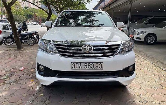 Cần bán xe Toyota Fortuner TRD sản xuất 2015, màu trắng, giá chỉ 765 triệu0