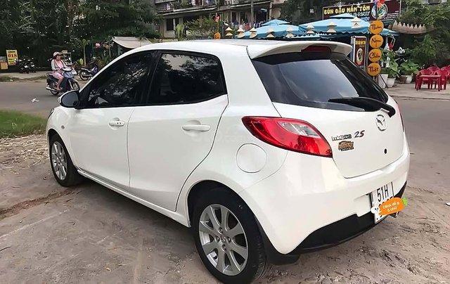Bán Mazda 2 1.5 AT đời 2014, màu trắng, giá tốt1