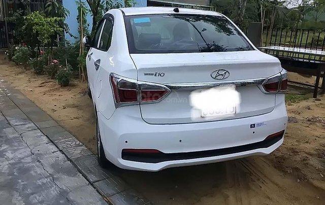 Bán ô tô Hyundai Grand i10 2017, màu trắng, 370tr3