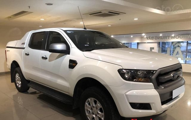 Bán ô tô Ford Ranger XLS AT 2017 trắng, nhập khẩu nguyên chiếc, giá 720tr2