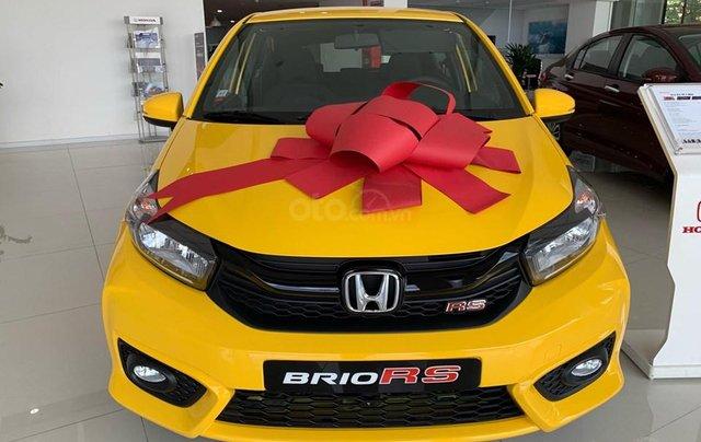 Honda Brio RS Đồng Nai, giá lăn bánh trả trước 140tr, góp 8tr/tháng, giao ngay, đủ màu0