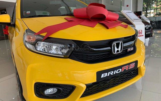 Honda Brio RS Đồng Nai, giá lăn bánh trả trước 140tr, góp 8tr/tháng, giao ngay, đủ màu1