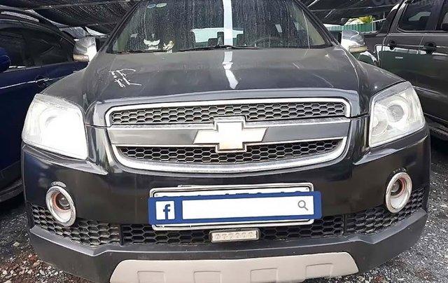 Bán xe Chevrolet Captiva LT 2.4 MT đời 2008, màu đen, số sàn0