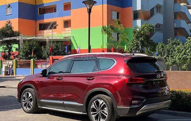 Bán xe cũ Hyundai Santa Fe 2.4L HTRAC năm sản xuất 2018, màu đỏ1