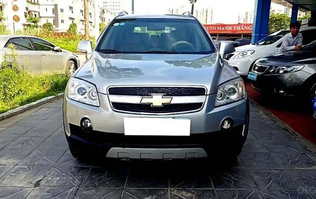 Bán Chevrolet Captiva LT 2.4 MT sản xuất 2008, màu bạc, số sàn 0
