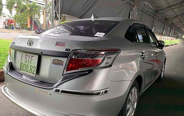 Bán Toyota Vios 1.5E đời 2016, màu bạc, số sàn, 410tr1