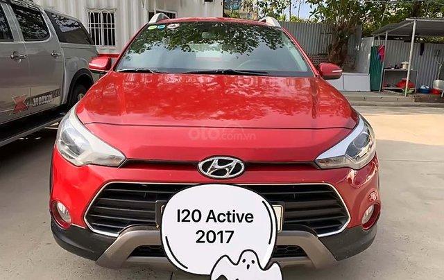 Bán Hyundai i20 Active 1.4 AT năm 2017, màu đỏ, nhập khẩu  0
