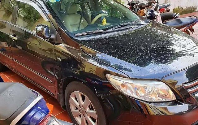 Cần bán Toyota Corolla Altis 1.8 đời 2009, màu đen, chính chủ 1