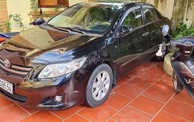 Cần bán Toyota Corolla Altis 1.8 đời 2009, màu đen, chính chủ 0