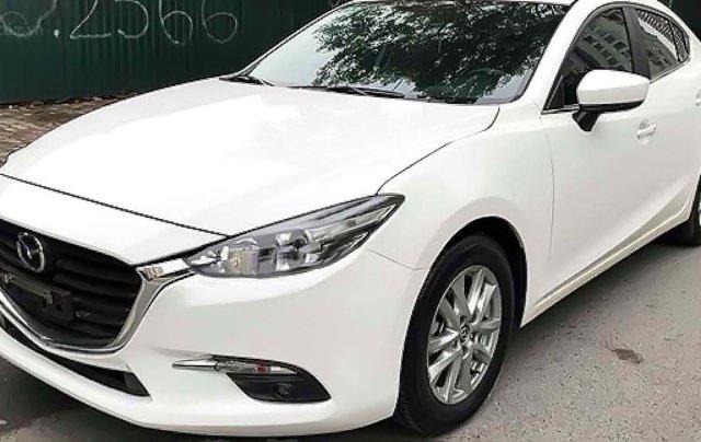 Cần bán xe Mazda 3 sản xuất năm 2018, màu trắng, chính chủ, 650tr0
