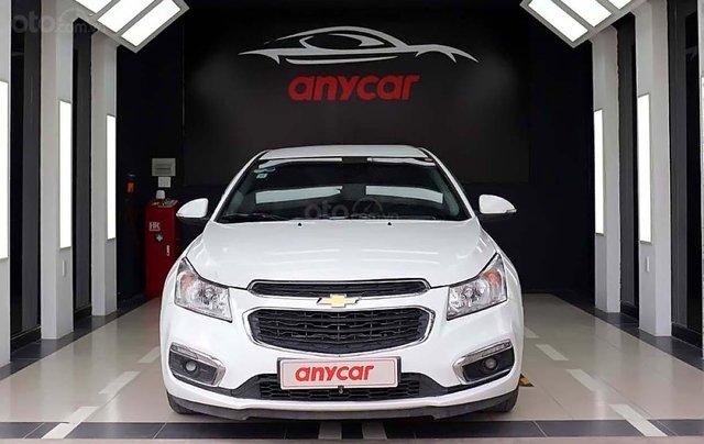 Bán Chevrolet Cruze LT 1.6L đời 2017, màu trắng, chính chủ0