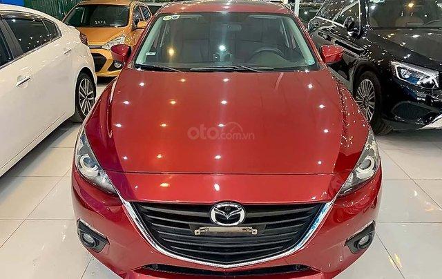 Bán Mazda 3 1.5 AT 2015, màu đỏ, xe cũ0