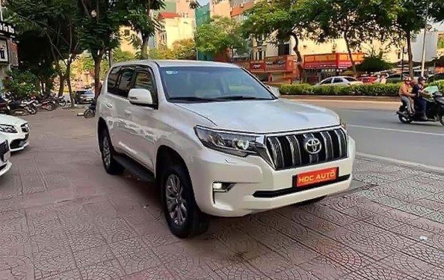 Bán xe Toyota Prado VX 2.7L 2018, màu trắng, nhập khẩu  0