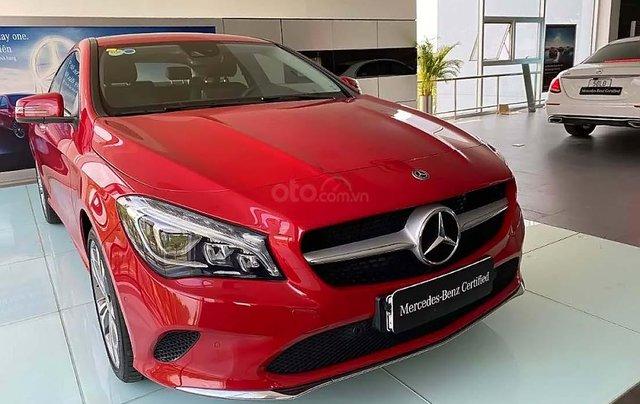 Bán Mercedes CLA 200 sản xuất năm 2018, màu đỏ, nhập khẩu  0